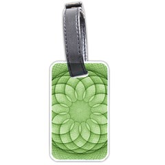 Spirograph Luggage Tag (one Side) by Siebenhuehner