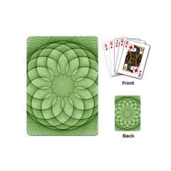 Spirograph Playing Cards (mini) by Siebenhuehner