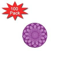Spirograph 1  Mini Button (100 Pack) by Siebenhuehner