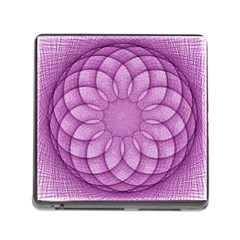 Spirograph Memory Card Reader With Storage (square) by Siebenhuehner