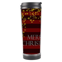 Merry Christmas By Joely   Travel Tumbler   M952wivzdlu9   Www Artscow Com Left