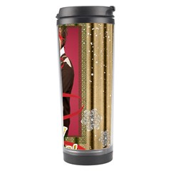 Merry Christmas By Joely   Travel Tumbler   Ocec6s1xselo   Www Artscow Com Right