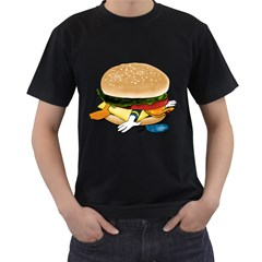 Make Donald Mens' Two Sided T-shirt (Black) by Contest1753604