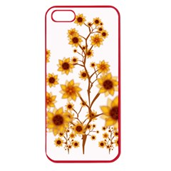 Sunflower Cheers Apple Seamless Iphone 5 Case (color) by doodlelabel