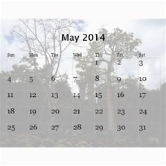 4 By Nikolay   Wall Calendar 11  X 8 5  (12 Months)   26yx0nuzw4zg   Www Artscow Com May 2014