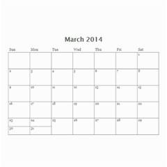 My Life By Ves   Wall Calendar 8 5  X 6    Io0nisj942f7   Www Artscow Com Mar 2014