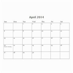 My Life By Ves   Wall Calendar 8 5  X 6    Io0nisj942f7   Www Artscow Com Apr 2014