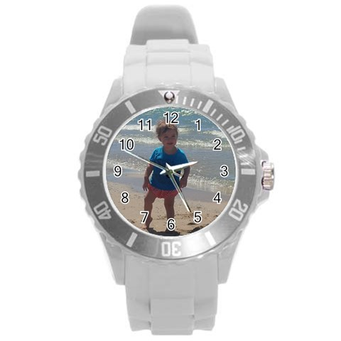By Courtney Hough   Round Plastic Sport Watch (l)   75kurtmvdnap   Www Artscow Com Front