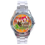 merrry christmas - Stainless Steel Analogue Watch