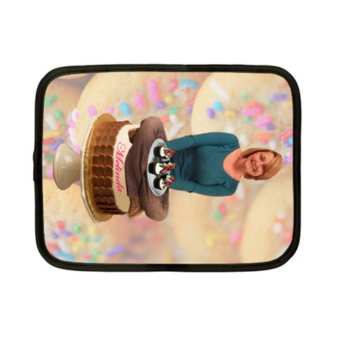 Melinda Cupcake Netbook Case By Karen   Netbook Case (small)   Sdn4h584erzy   Www Artscow Com Front