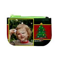 Merry Christmas By M Jan   Mini Coin Purse   6cn2nnreh36j   Www Artscow Com Front