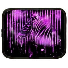 The Hidden Zebra Netbook Case (large) by doodlelabel