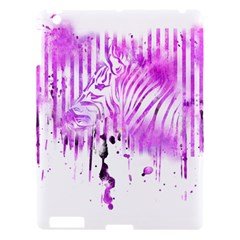 The Hidden Zebra Apple Ipad 3/4 Hardshell Case by doodlelabel