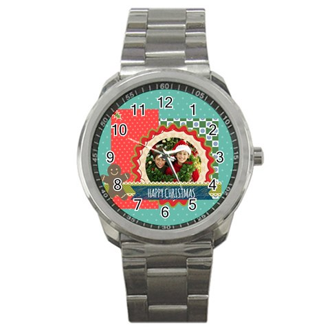 Merry Christmas By Merry Christmas   Sport Metal Watch   Q57e80lmnqg8   Www Artscow Com Front