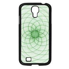 Spirograph Samsung Galaxy S4 I9500/ I9505 Case (black) by Siebenhuehner