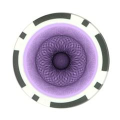 Mandala Poker Chip (10 Pack) by Siebenhuehner