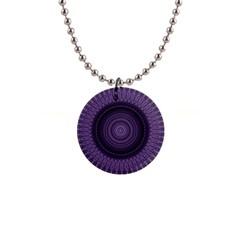 Mandala Button Necklace by Siebenhuehner