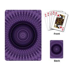 Mandala Playing Cards Single Design by Siebenhuehner