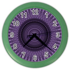 Mandala Wall Clock (color) by Siebenhuehner