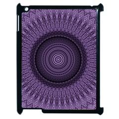 Mandala Apple Ipad 2 Case (black) by Siebenhuehner