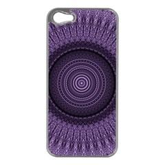 Mandala Apple Iphone 5 Case (silver) by Siebenhuehner
