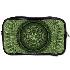 Mandala Travel Toiletry Bag (two Sides) by Siebenhuehner