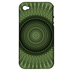Mandala Apple Iphone 4/4s Hardshell Case (pc+silicone) by Siebenhuehner