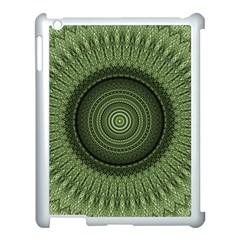Mandala Apple Ipad 3/4 Case (white) by Siebenhuehner