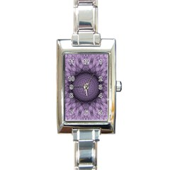 Mandala Rectangular Italian Charm Watch by Siebenhuehner