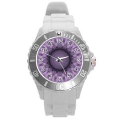 Mandala Plastic Sport Watch (large) by Siebenhuehner