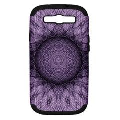 Mandala Samsung Galaxy S Iii Hardshell Case (pc+silicone) by Siebenhuehner