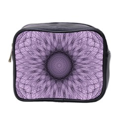 Mandala Mini Travel Toiletry Bag (two Sides) by Siebenhuehner
