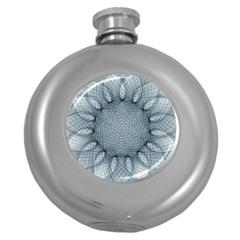 Mandala Hip Flask (round) by Siebenhuehner