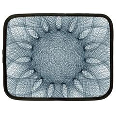 Mandala Netbook Case (large) by Siebenhuehner