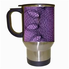 Mandala Travel Mug (white) by Siebenhuehner