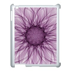 Mandala Apple Ipad 3/4 Case (white) by Siebenhuehner