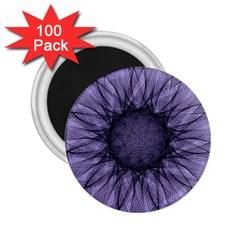 Mandala 2 25  Button Magnet (100 Pack) by Siebenhuehner