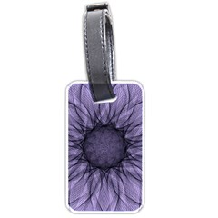 Mandala Luggage Tag (one Side) by Siebenhuehner