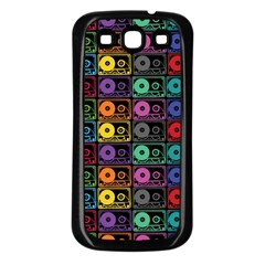 Music Case Samsung Galaxy S3 Back Case (black) by PaolAllen2