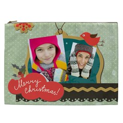 Merry Christmas By Merry Christmas   Cosmetic Bag (xxl)   I106iptva105   Www Artscow Com Front