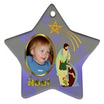 nativity star ornament - Ornament (Star)