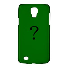 The Riddler Samsung Galaxy S4 Active (i9295) Hardshell Case by Contest1751774