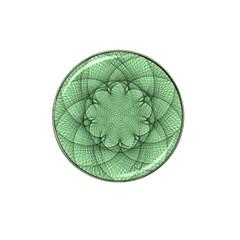 Spirograph Golf Ball Marker 10 Pack (for Hat Clip) by Siebenhuehner