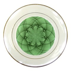 Spirograph Porcelain Display Plate