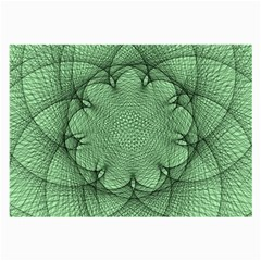 Spirograph Glasses Cloth (large, Two Sided) by Siebenhuehner