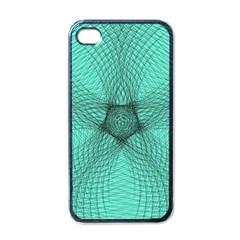 Spirograph Apple Iphone 4 Case (black) by Siebenhuehner