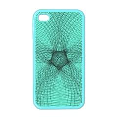 Spirograph Apple Iphone 4 Case (color) by Siebenhuehner