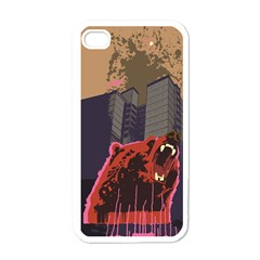 Urban Bear Apple Iphone 4 Case (white) by Contest1738792