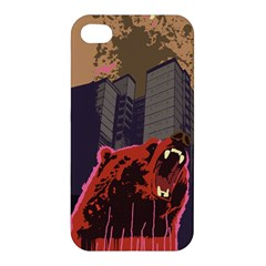 Urban Bear Apple iPhone 4/4S Hardshell Case by Contest1738792