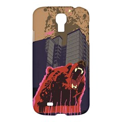 Urban Bear Samsung Galaxy S4 I9500/i9505 Hardshell Case by Contest1738792
